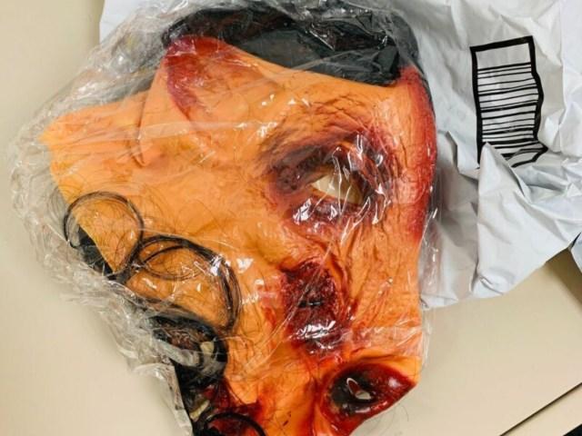 eBay bloody pig mask