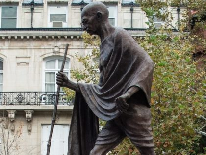 U.S. Apologizes to India After Rioters Deface Statue of Gandhi