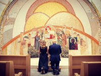 Photo: Donald Trump Kneels in Prayer at St John Paul II Shrine