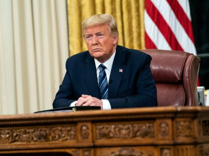 President Donald J. Trump addresses the nation from the Oval Office of the White House Wednesday evening, March 11, 2020, on the country's expanded response against the global Coronavirus outbreak. (Official White House Photo by Joyce N. Boghosian)