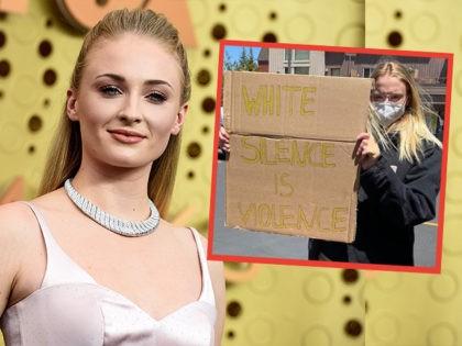 sophie-turner-blm-protest-ap