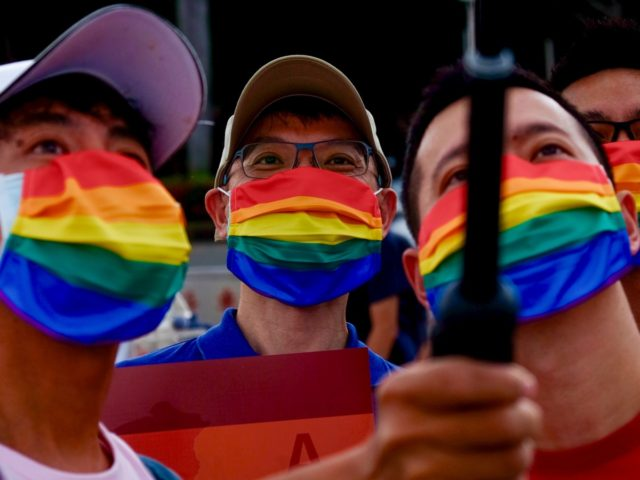 Taiwan stages LGBT pride parade 'for the world'