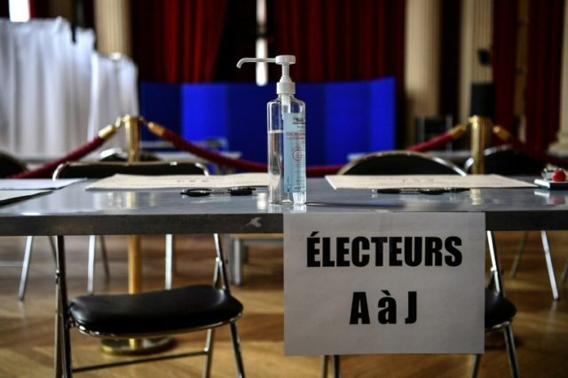 France's Macron faces punishing local elections""