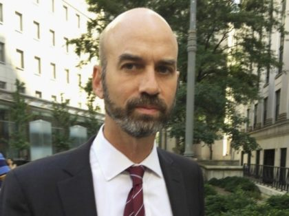This Aug. 16, 2017, file photo shows James Bennet, editorial page editor of The New York Times, in New York. Bennet has resigned amid outrage over an op-ed by a Republican senator who advocated using federal troops to quell protests, outrage that only grew when it was revealed the editor …