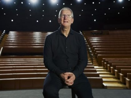 In this photo provided by Apple Inc., CEO Tim Cook delivers the keynote address during the 2020 Apple Worldwide Developers Conference Monday, June 22, 2020, in Cupertino, Calif. At its postponed and now-virtual developers conference, Apple is expected to unveil some modest changes to iPhone operating software and possibly to …