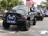 'Red, White, and Back the Blue' Car Parade in Florida Honors Local Law Enforcement