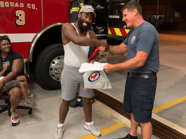 Mr. Tyree Ward, an auto mechanic from Philadelphia, was visiting Wildwood last evening with his family and saved a young woman from drowning off of the Baker Ave. beach. Mr. Ward did not hesitate to enter the water and execute an effective rescue of the woman prior to the arrival …