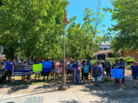 Today there was a Nationwide 'Back the Blue' Rally taking place and our incredible community joined in! Thank you to all who took the time out of their Saturday to come out and show their support for our Department! We are extremely grateful for all of you! #community