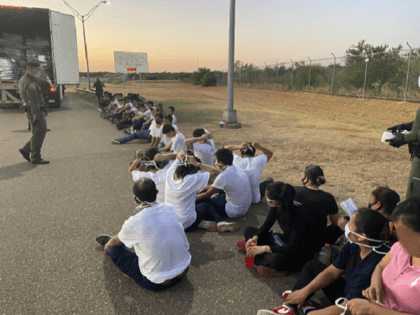 Border Patrol agents arrest 2 smugglers and 35 migrants in a failed smuggling attempt in South Texas. (Photo: U.S. Border Patrol/Laredo Sector)