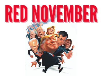 Red November landscape cover (Courtesy of Center Street)