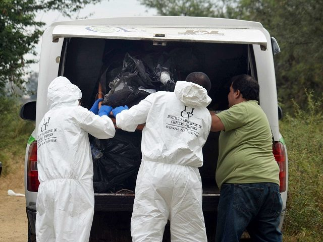 Mass graves found in Jalisco. AP File Photo/Agencia Esquema