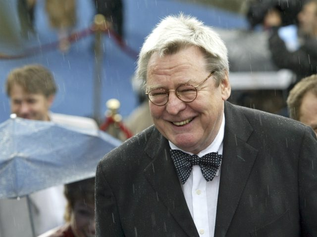 Film director Alan Parker smiles at the opening ceremony of 26th Moscow International Film Festival in Moscow, Friday, June 18, 2004. (AP Photo/Misha Japaridze)