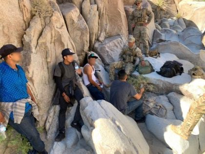 BORSTAR EMT agents medically evaluated and treated the four subjects, who were out of water (Photo: U.S. Border Patrol/El Centro Sector)