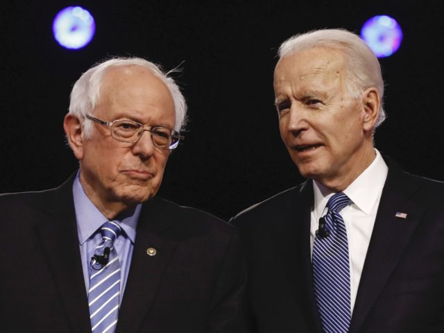 Bernie Sanders and Joe Biden (Matt Rourke / Associated Press)