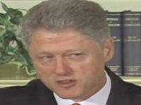 Bill Clinton Denial, Lewinsky Scandal
