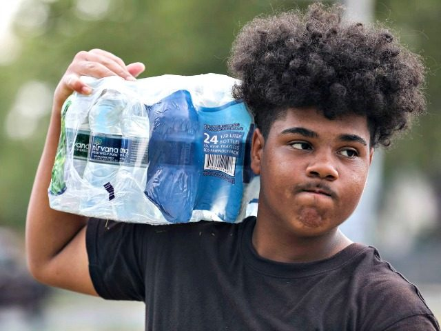 Boy Selling Water, Was Robbed