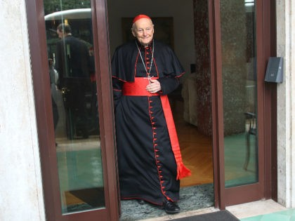 ROME (March 11, 2013) - Cardinal Theodore McCarrick, Archbishop-emeritus of Washington, DC.