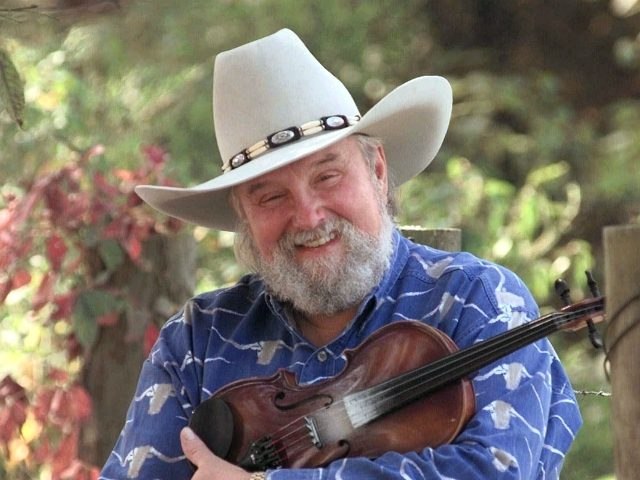 Charlie Daniels is shown near his Lebanon, Tenn., home in this Aug. 23, 1998 photo. Daniels, after a number of hits, Grammys and other awards and honors, returned to his hometown of Wilmington, N.C. on Wednesday, Oct. 24, 2001, to become the Walk of Fame's 10th inductee. (AP Photo/Mark Humphrey)