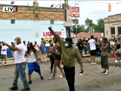 Detroit Protest Officer Involved Shooting