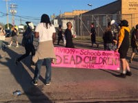 Protesters Block Detroit School Bus Yard on First Morning of In-Person Classes