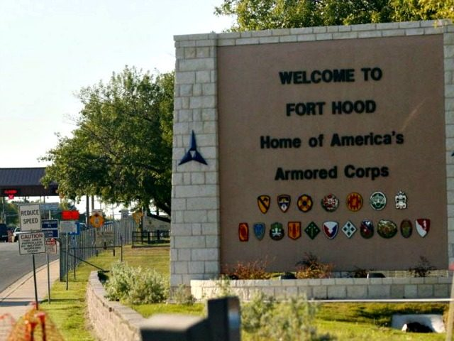 Entrance to Fort Hood Army Base in Fort Hood, Texas. (Photo: Jack Plunkett, AP)