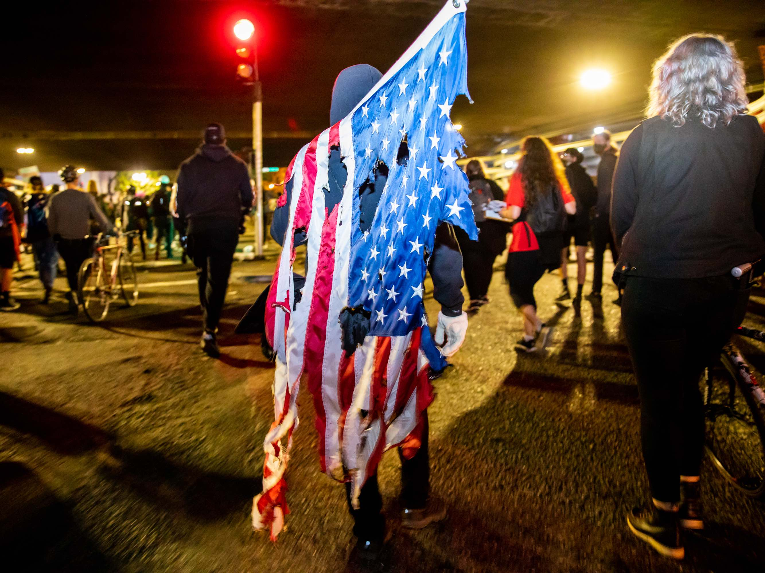 Flag Oakland (Natasha Moustache / Getty)