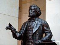 WASHINGTON, DC - JUNE 19: The Frederick Douglass Statue in Emancipation Hall at the Capitol Visitors Center, at the U.S. Capitol, on June 19, 2013 in Washington, DC. Congressional leaders dedicated the statue during a ceremony on Wednesday. (Photo by Drew Angerer/Getty Images)