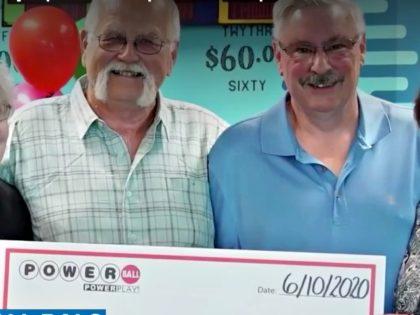 Friends Split Lottery Jackpot