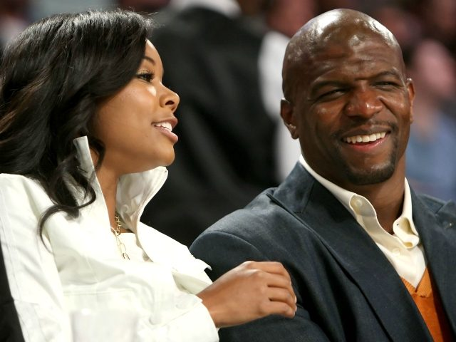 NEW ORLEANS - FEBRUARY 17: Actress Gabrielle Union talks with actor Terry Crews during the 57th NBA All-Star Game, part of 2008 NBA All-Star Weekend at the New Orleans Arena on February 17, 2008 in New Orleans, Louisiana. NOTE TO USER: User expressly acknowledges and agrees that, by downloading and …