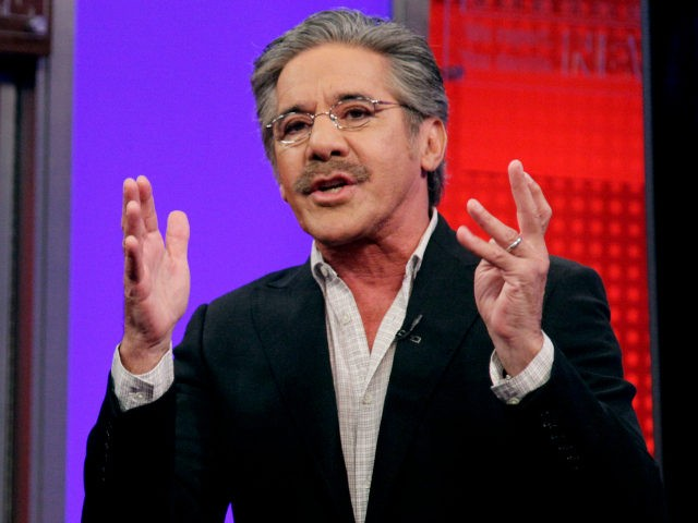 "In this June 25, 2010 file photo, Fox News Channel commentator Geraldo Rivera speaks on the ""Fox & friends"" television program in New York. Duquesne (doo-KAYN') University says Geraldo Rivera isn't welcome to appear on a panel at the Pittsburgh school because of a half-naked ""selfie"" he posted this summer. …"