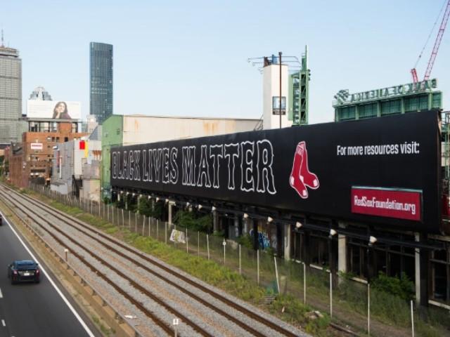 Red Sox Unveil 'Black Lives Matter' Billboard Near Fenway Park thumbnail