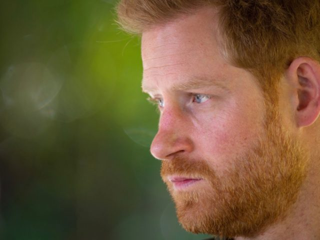 CHOBE NATIONAL PARK, BOTSWANA - SEPTEMBER 26: Prince Harry, Duke of Sussex joins a Botswana Defence Force anti-poaching patrol on the Chobe river in Kasane on day four of their tour of Africa on September 26, 2019 in Chobe National Park, Botswana. (Photo by Dominic Lipinski - Pool /Getty Images)