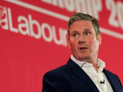 DURHAM, ENGLAND - FEBRUARY 23: Sir Keir Starmer, Shadow Secretary of State for Exiting the European Union addresses the audience during the Labour Party Leadership hustings at the Radisson Blu Hotel on February 23, 2020 in Durham, England. Sir Keir Starmer, Rebecca Long-Bailey and Lisa Nandy are vying to replace …