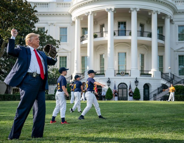 President Trump to throw out first pitch at Yankees game in August