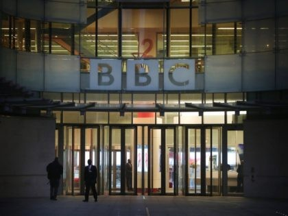 LONDON, ENGLAND - OCTOBER 24: Employees arrive early for work at BBC Broadcasting House on October 24, 2012 in London, England.A BBC1 'Panorama' documentary has new allegations about the handling by BBC2 programme 'Newsnight' over claims of sexual abuse allegedly carried out by fomer BBC television presenter, Jimmy Savile, the …