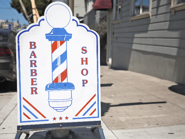 San Francisco barber shop
