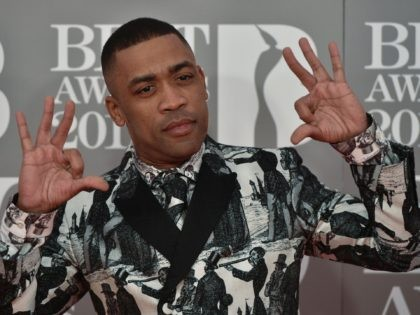 British rapper Wiley poses on the red carpet arriving for the BRIT Awards 2017 in London on February 22, 2017. / AFP / NIKLAS HALLE'N / RESTRICTED TO EDITORIAL USE, TO ILLUSTRATE THE EVENT AS SPECIFIED IN THE CAPTION, NO POSTERS, NO USE IN PUBLICATIONS DEVOTED TO ARTISTS (Photo credit …