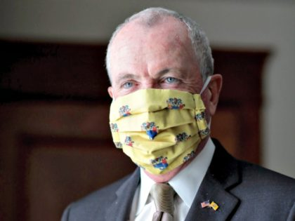 Gov Murphy in Mask