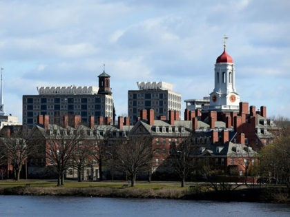 CAMBRIDGE, MASSACHUSETTS - APRIL 22: A general view of Harvard University campus is seen on April 22, 2020 in Cambridge, Massachusetts. Harvard has fallen under criticism after saying it would keep the $8.6 million in stimulus funding the university received from the CARES Act Higher Education Emergency Relief Fund in …
