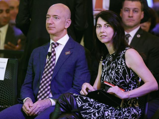 Jeff Bezos and ex-wife MacKenzie Scott