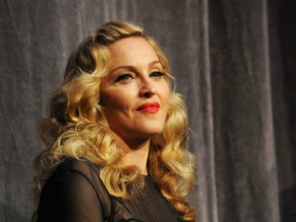 """TORONTO, ON - SEPTEMBER 12: Director Madonna onstage at """"W.E"""" Premiere at Roy Thomson Hall during the 2011 Toronto International Film Festival on September 12, 2011 in Toronto, Canada. (Photo by Jason Merritt/Getty Images)"""