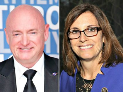 Polls Show Arizona Sen. Martha McSally Taking Lead from Democrat Challenger Mark Kelly