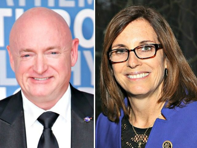 Mark Kelly and Martha McSally
