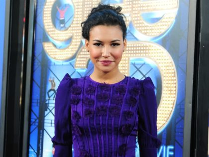 Actress Naya Rivera poses for the cameras as cast members from the hit TV series Glee and guests attend the world premiere of Glee The 3D Concert Movie in Westwood on August 6, 2011 in Los Angeles, California. AFP PHOTO/Frederic J.BROWN (Photo credit should read FREDERIC J. BROWN/AFP via Getty …