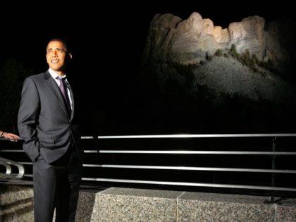 Obama Rushmore (Chip Somodevilla / Getty)