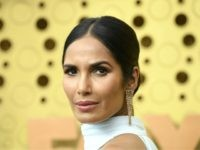 LOS ANGELES, CALIFORNIA - SEPTEMBER 22: Padma Lakshmi attends the 71st Emmy Awards at Microsoft Theater on September 22, 2019 in Los Angeles, California. (Photo by Frazer Harrison/Getty Images)