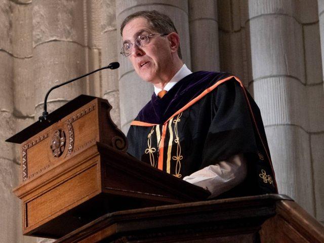 Princeton President Christopher Eisgruber