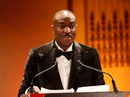 NEW YORK, NY - MARCH 25: Chairman Emeritus, of the board of the Evidence Dance Company and Executive Vice President at Booz Allen Hamilton Reginald Van Lee speaks onstage during the Torch Ball hosted by Evidence, A Dance Company at The Plaza Hotel on March 25, 2013 in New York …