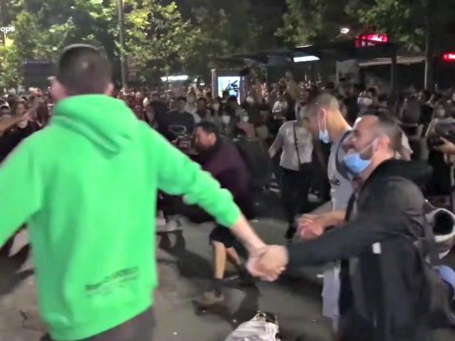 Seerbians Dance in Streets