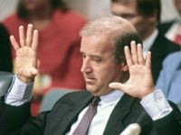 Washington, DC.USA, September 3, 1990 Senator Joe Biden (D.,DE.) chairs the Senate Judiciary Committee during the Justice Souter confirmation hearings. Credit: Mark Reinstein / MediaPunch /IPX